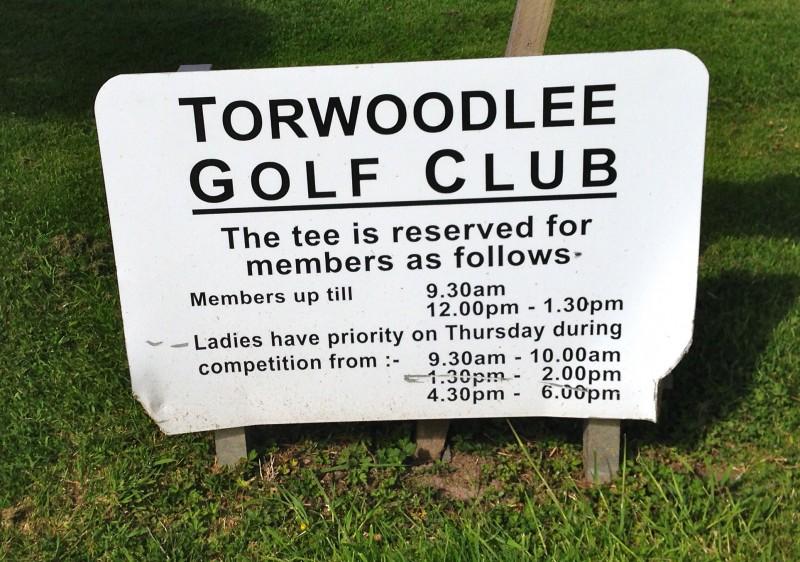 TWL ladies play sign