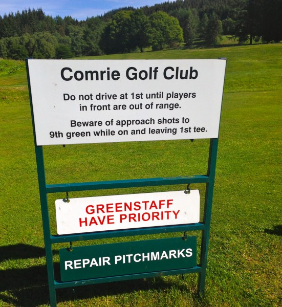 comrie green keepers