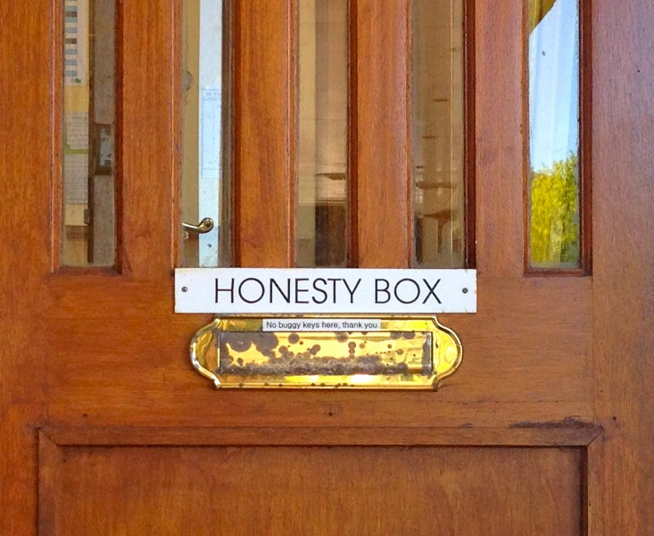 stf honesty box