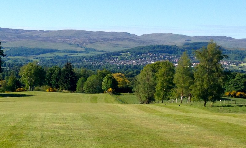 muthill g c view